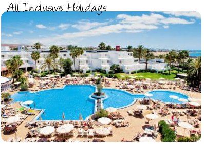 All inclusive package holidays