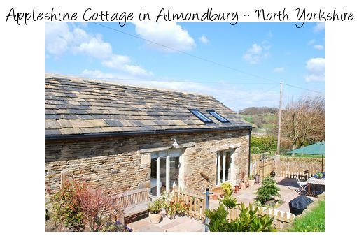 Appleshine Cottage in Almondbury is a converted stone barn, now a holiday cottage which sleeps 4 people