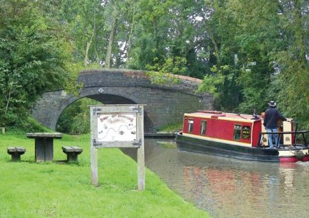 Ashby Boats at Canal Wharf, near Nuneaton - on the Ashby Canal. Narrowboats sleeping 2 to 10 people