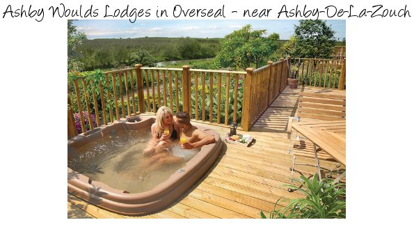 Ashby Woulds Lodges in Overseal, Derbyshire are luxury holiday lodges, each with a private hot tub