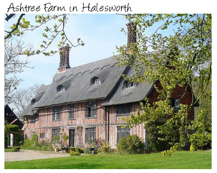 Ashtree Farm in Halesworth is an old cottage in the Suffolk countryside - sleeps 10 people