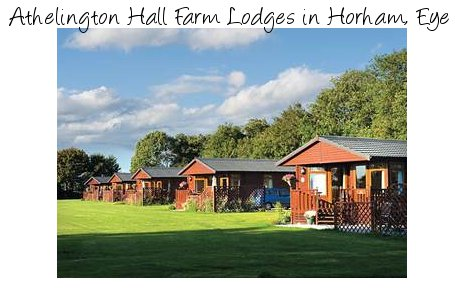 Enjoy a quiet lodge holiday in the Suffolk countryside at Athelington Hall Farm Lodges