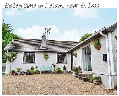 Bailey Gate is a holiday cottage near St Ives, Cornwall