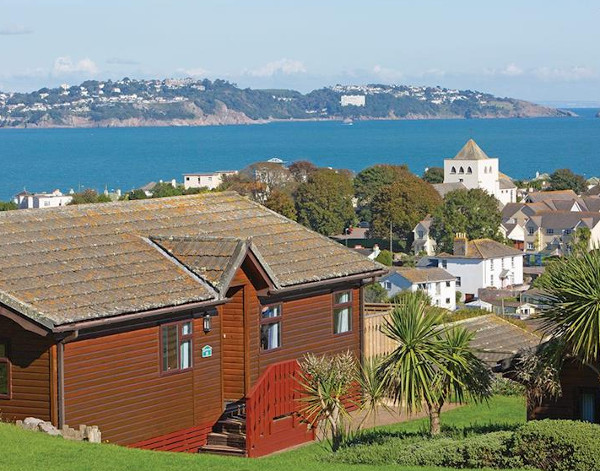 Beverley View in Paignton are hot tub holiday lodges near Devon's coast