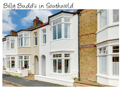 Billy Budd's is a Victorian terrace cottage in Southwold. Billy Budd's sleeps 6 people