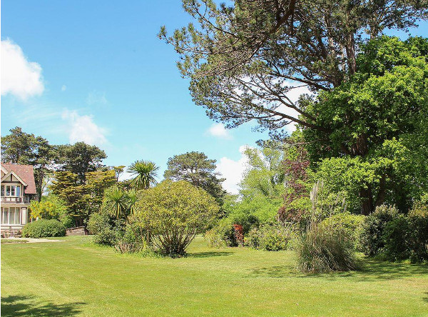 Bodwen on the Isle of Wight has a large garden