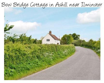 Bow Bridge Cottage is a detached holiday cottage in Ashill, near Ilminster in Somerset. Bow Bridge Cottage sleeps 4 people
