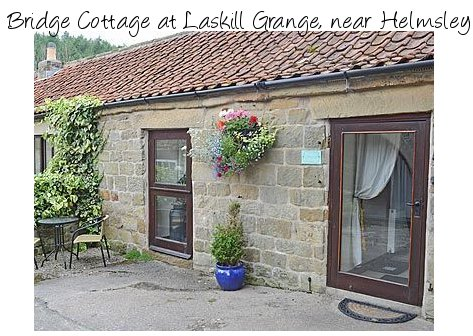 Bridge Cottage is a romantic holiday cottage near Helmsley