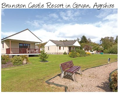 Brunston Castle Resort is a quiet lodge holiday park in Girvan, Ayrshire
