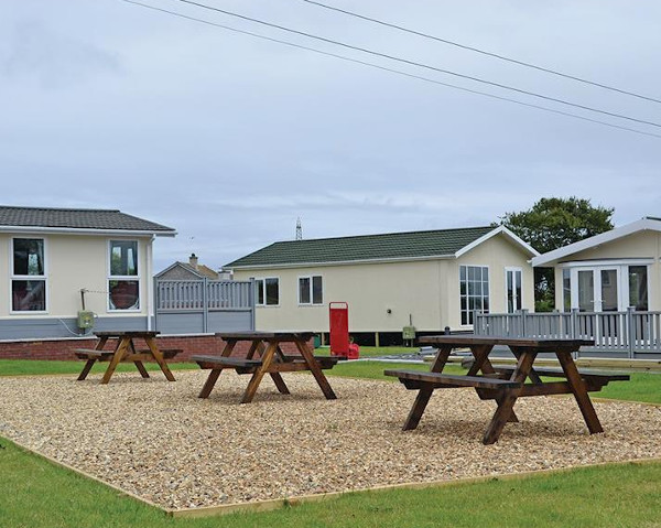 Bryn Mechell Lodges are a collection of holiday lodges in Llanfechell, on Anglesey, some with a hot tub