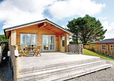 Caddys Corner Lodges in Carnmenellis, near Falmouth is a collection of holiday lodges with hot tubs