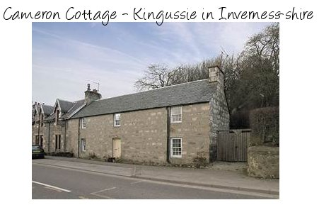Rent Cameron Cottage in Inverness-shire. A great place to explore the Cairngorm National Park