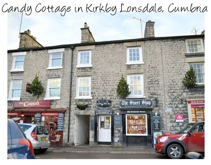 Candy Cottage is a large holiday apartment in Kirkby Lonsdale which sleeps 4 people