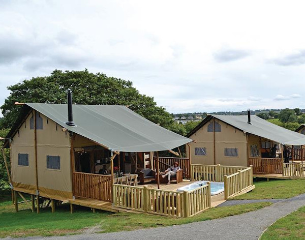 Celtic Escapes in Narberth are a collection of lodges and safari tents in Narberth. Some have a hot tub