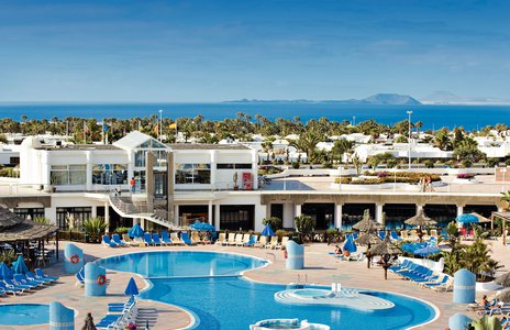 Club Playa Blanca is a family holiday resort on the Canary Island of Lanzarote