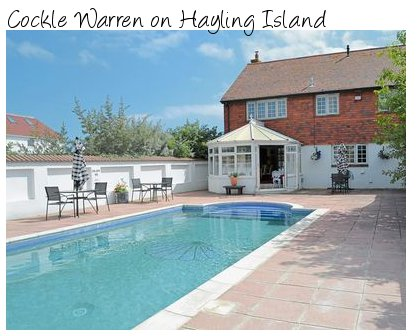 Cockle Warren On Hayling Island Is A Holiday Cottage Sleeping 14 People And Has Its Own