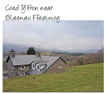 Rent Coed Y Fron for a large rural holiday cottage - sleeps 11 people