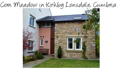 Corn Meadow is a holiday cottage in the grounds of Whoop Hall in Kirkby Lonsdale, Cumbria
