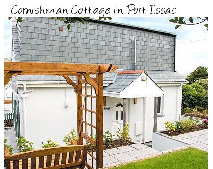 Get sea views at Cornishman Cottage in Cornishman Cottage - sleeps 6 people