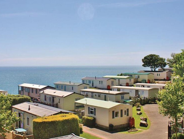 Cove Holiday Park on Portland, Dorset