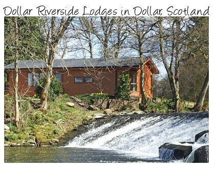 Dollar Riverside Lodges are a selection of holiday lodges in Scotland sleeping 4 people - and some with a hot tub