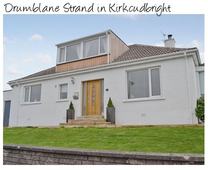 Drumblane Strand in Kirkcudbright is a holiday cottage in south west Scotland, with a private hot tub