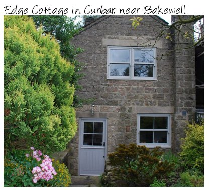 Edge Cottage is a lovely looking holiday cottage near the Peak District National Park
