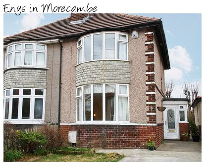 Enys is a holiday cottage in Morecambe for 4 people