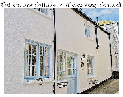 Enjoy a trip to Cornwall when you stay at Fishermans Cottage in Mevagissey