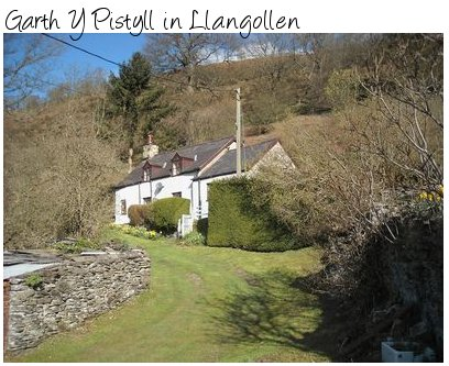 Garth Y Pistyll is a rural holiday cottage in Llangollen, Wales. Sleeping 6 people, Garth Y Pistyll is pet friendly