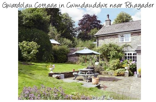 Gwardolau Cottage is in the Elan Valley in deepest Wales