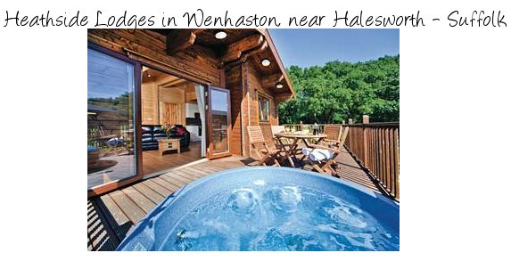 Heathside Lodges are a selection of holiday holidays with hot tubs in the Suffolk countryside