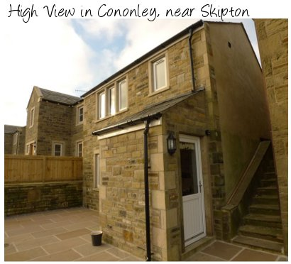 High View in Cononley, near Skipton is a modern holiday cottage sleeping 6 people