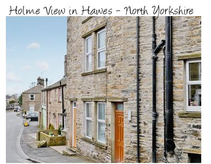 Holme View is a holiday cottage in the village of Hawes, North Yorkshire - sleeps 4 people