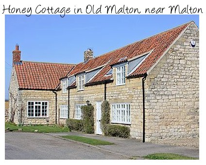 Honey Cottage is an 18th century holiday cottage north east of York