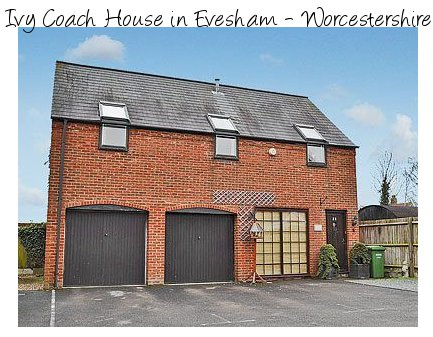 Ivy Coach House is a great place to see the towns and attractions of Evesham and Worcestershire