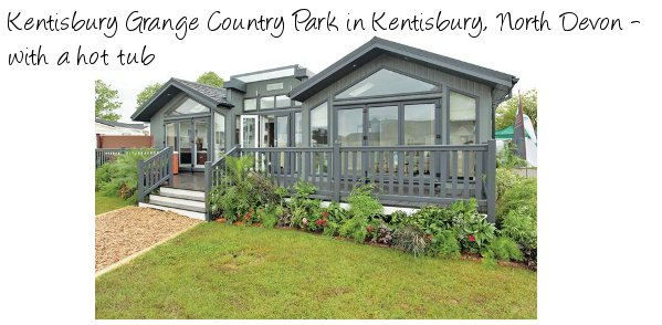 Kentisbury Grange Country Park offers you some holiday lodges near the Exmoor National Park in Devon