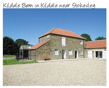 Kildale Barn is a quite converted holiday cottage in the North York Moors National Park