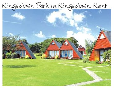 Enjoy sea views at Kingsdown Park in Kent - lodges for great family holiday