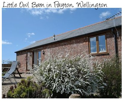 Little Owl Barn is a holiday cottage in Payton, near  - in rural Somerset