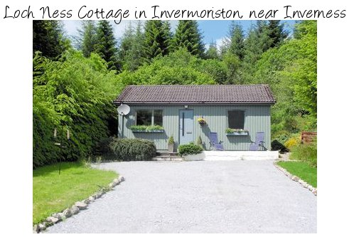 Loch Ness Cottage in the village of Invermoriston, near Inverness is a holiday cottage near Loch Ness