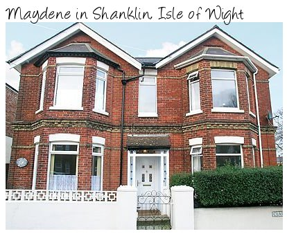 The holiday cottage of Maydene can be found in Shanklin, Isle of Wight