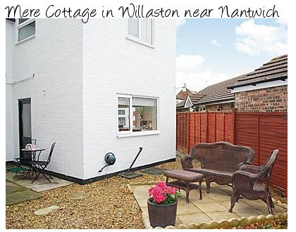 Rent Mere Cottage in Willaston for a few days of cottage holiday happiness