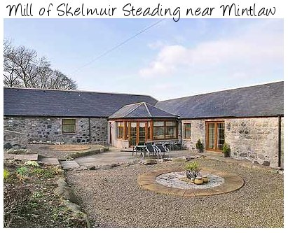 Mill of Skelmuir Steading, just north of Abderdeen, sleeps 6 people