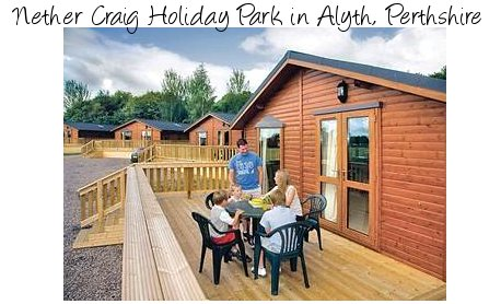 Enjoy the peace and quiet at Nether Craig Holiday Park in Alyth, Perthshire