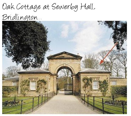 Oak Cottage at Sewerby Hall near Bridlington
