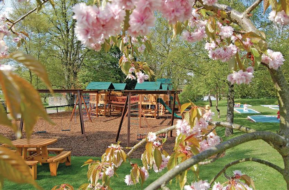 Ord House Country Park has a quiet setting, with a childrens' playground