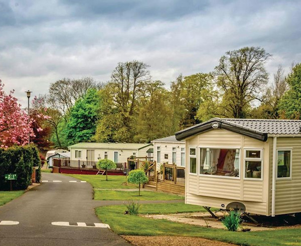 Ord House Country Park in Berwick-upon-Tweed is a quiet caravan park