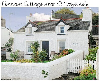 Suitable for a romantic weekend, Pennant Cottage near St Dogmaels