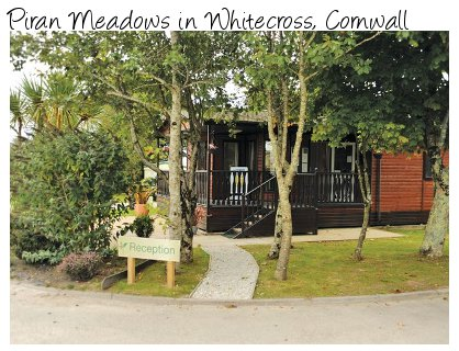Piran Meadows is a quiet holiday park in Whitecross, Cornwall - just a few miles outside Truro. Lodges and caravans sleeping 4 to 8 people